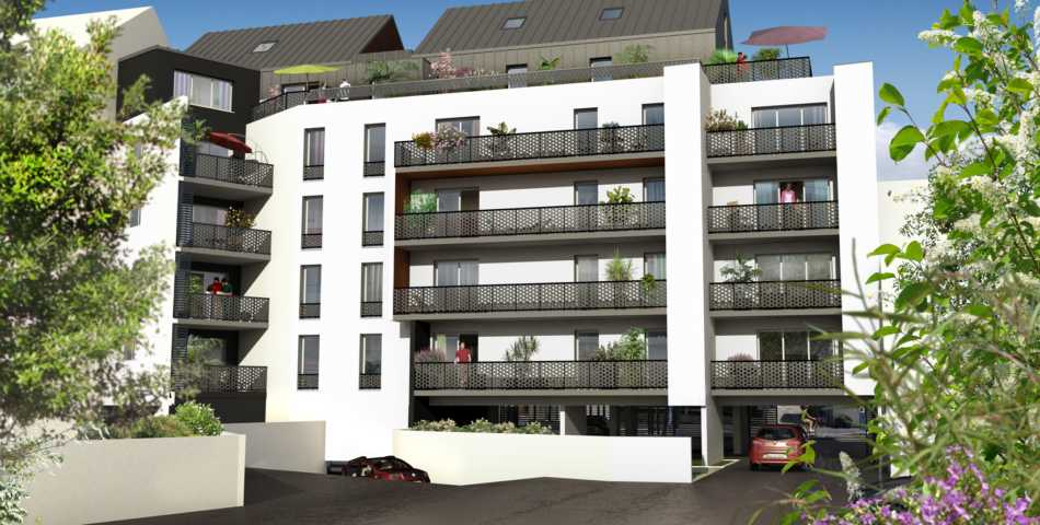 Programme immobilier neuf - Rennes centre-ville
